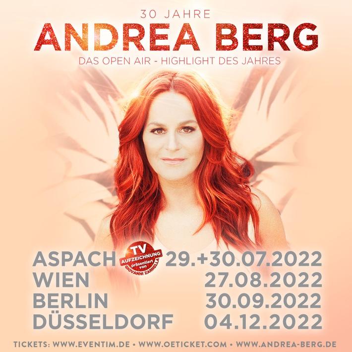 30 Jahre Andrea Berg – Das Open Air-Highlight des Jahres 2022